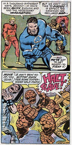 Fantastic Four 91 Lee-Kirby Skrulls