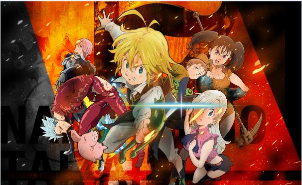 Nanatsu no Taizai - Top Anime Overpower (Main Character Strong from the Beginning)