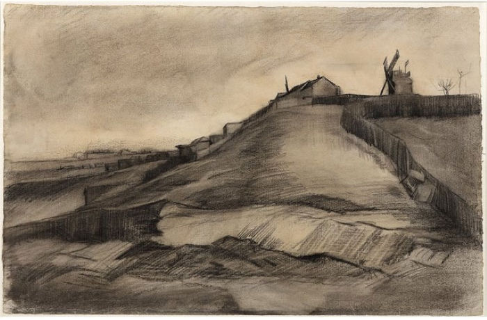Холм Монмартра с каменоломней
