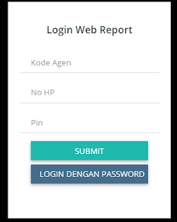 login web report pulsa