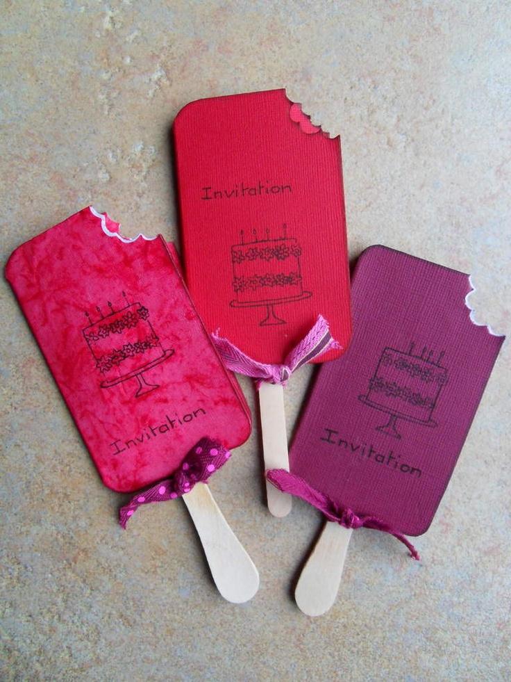 M s y m s manualidades 10 ideas de invitaciones - Cosas de madera para hacer ...