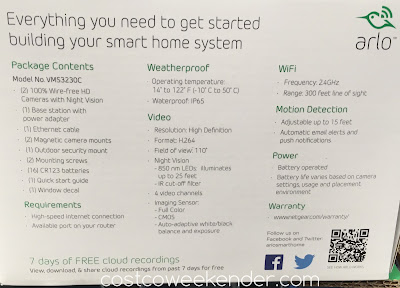 Netgear Arlo VMS3230C - great for any home's security