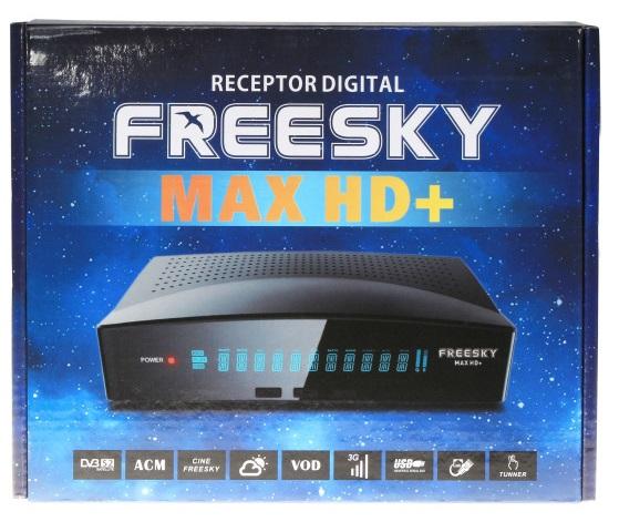 FREESKY MAX HD ( + ) PLUS NOVA ATUALIZAÇÃO V1.34 - 26/07/2019