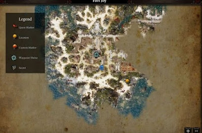 Divinity Original Sin 2, DOS2, Underground Arena, Entrance Location Map, Source Collar Guide, Nebora