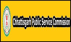 CGPSC(Chhattisgarh Public Service Commission) SSE Prelims Admit Card