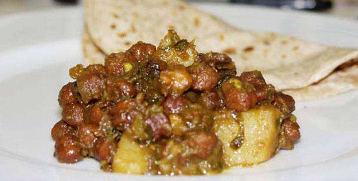 हरभरे बटाट्याची चटपटीत भाजी - पाककला | Harbhare Batatyachi Chatpatit Bhaji - Recipe