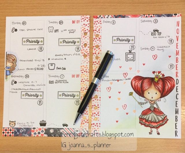 queen-planner-hearts-stamping-wonderland