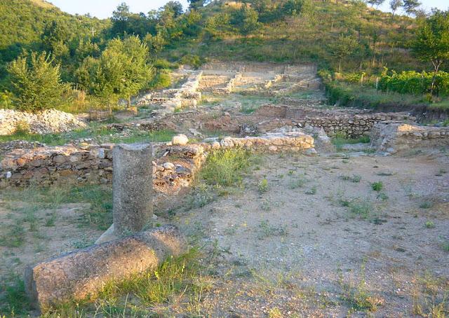 Foto Kota kuno Tauresium tempat kelahiran Yustinianus I