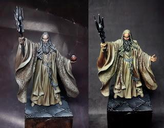 Saruman miniature