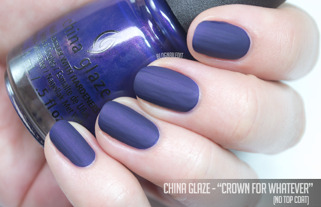 China Glaze - Crown for Whatever (no top coat)