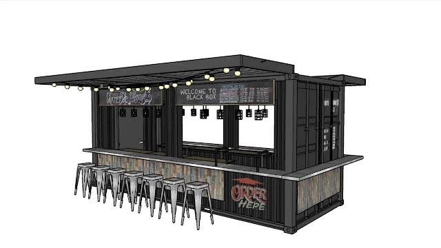 Container Bar Design