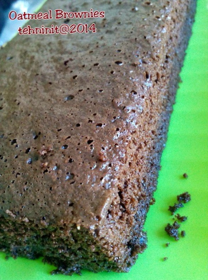 brownies oatmeal tehninit