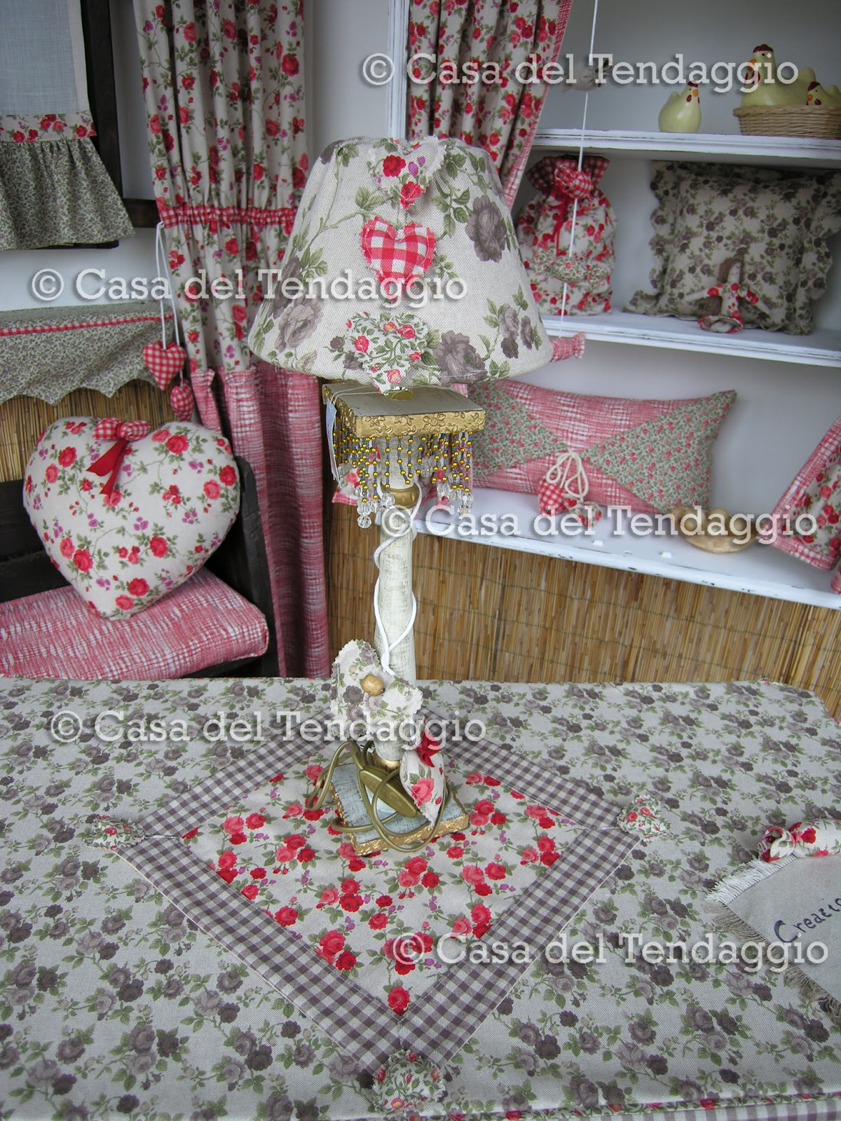 Coprisedie Shabby Chic Vetrina Country