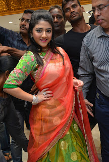 Shriya Sharma in lovely Saree at Kalamandir 25 Store Launch