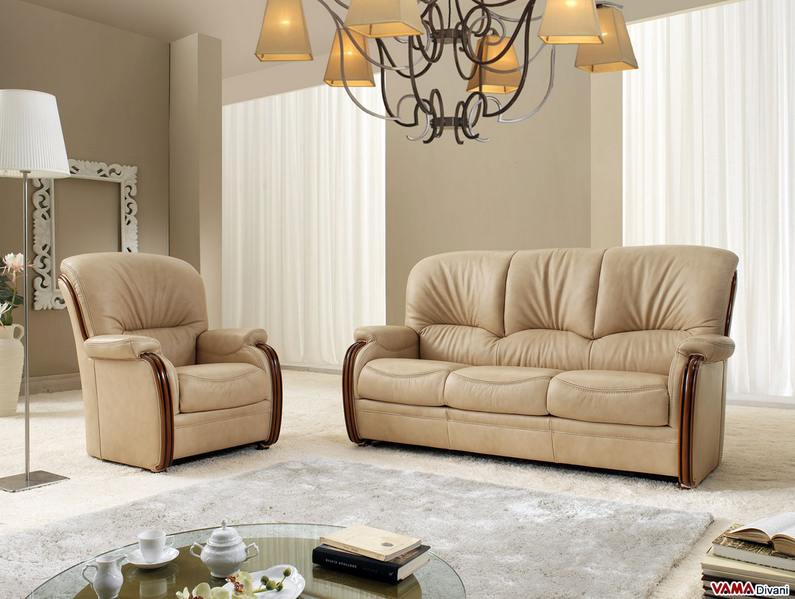 Consigli d 39 arredo il pregio di un divano in pelle for Consigli d arredo