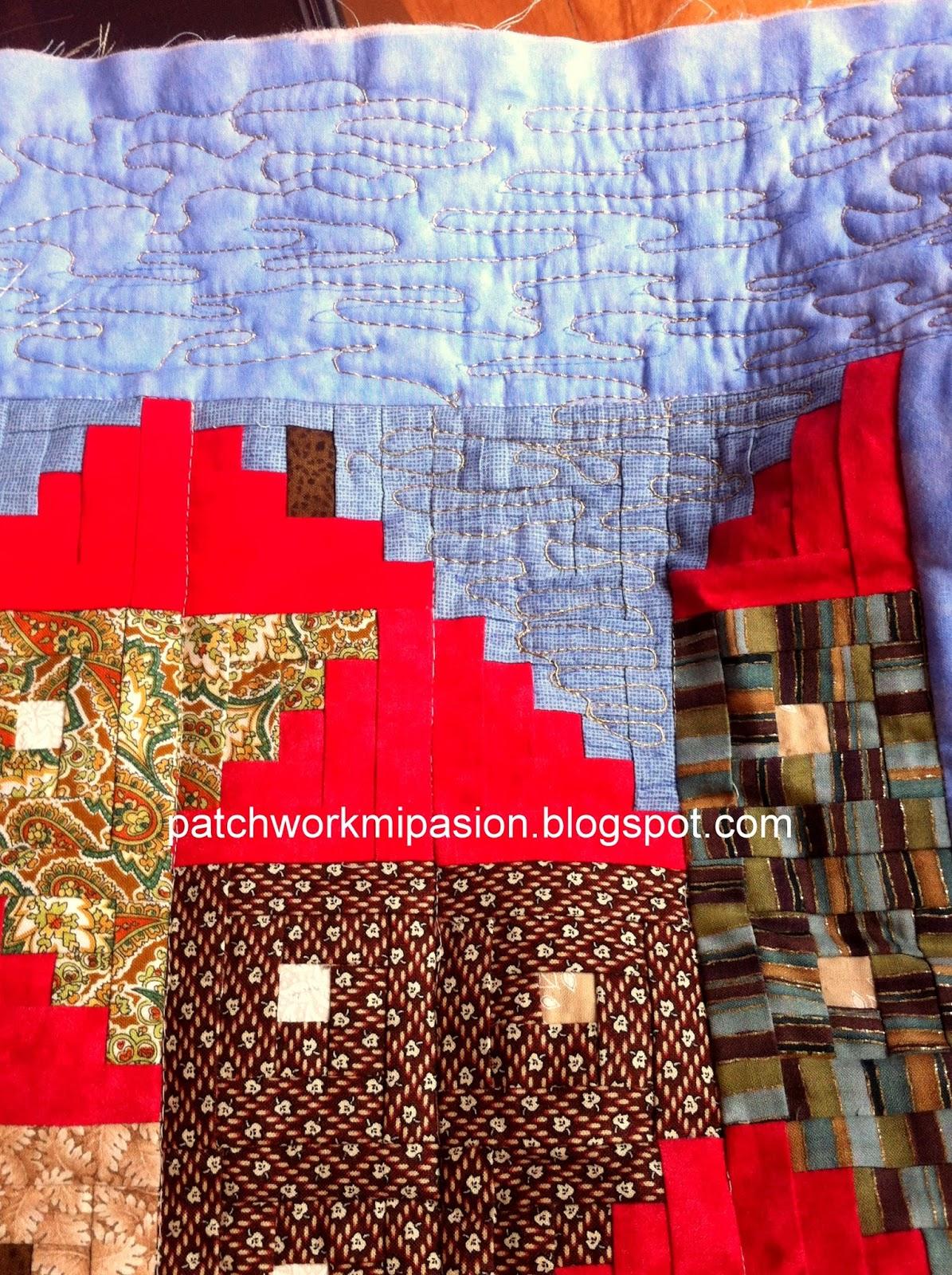 Patchwork mi pasion casas en las monta as - Casas de patchwork ...