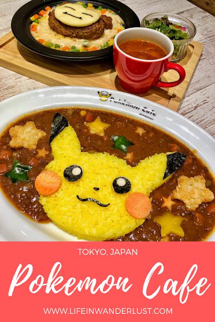 Pokemon Cafe Tokyo Japan Review