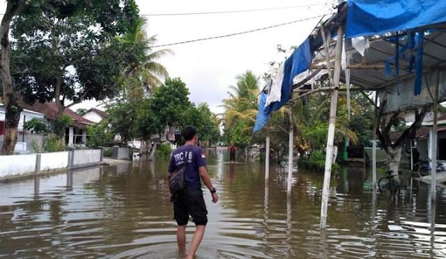 Banjir sudah mulai surut