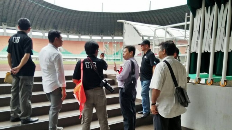 Stadion Pakansari Cibinong resmi menjadi kandang timnas