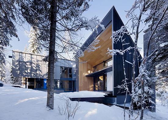 Desain rumah bergaya kontemporer scandinavia