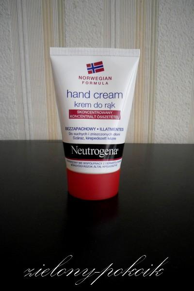 Kosmetycznie: Neutrogena: Formuła Norweska: Krem do rąk skoncentrowany, czyli jak na razie najlepszy kremik do rąk, jaki używałam