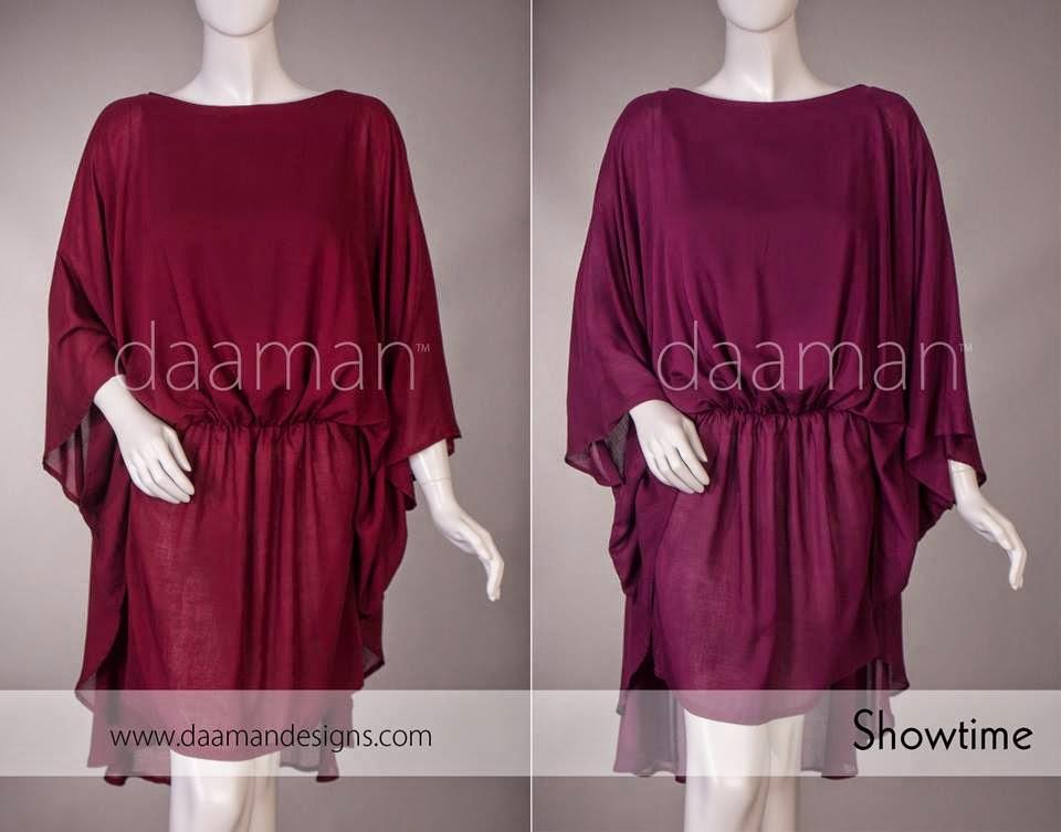 Winter Kurta Designs For Girls By Daaman 2014 Amp 2015 Wfwomen
