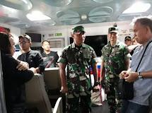 Danrem 131/Santiago Menilai Sistem Pengawasan Kapal Penumpang Masih Sesuai Standarisasi