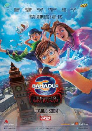 3 Bahadur The Revenge Of Baba Balaam 2016 BRRip 850Mb Urdu 720p Watch Online Full Movie Download bolly4u