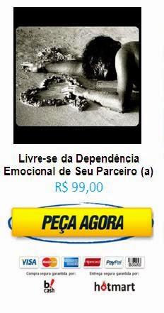 A DEPENDÊNCIA EMOCIONAL é um transtorno de personalidade marcado por dependência afetiva em relação à pessoa a quem amamos.