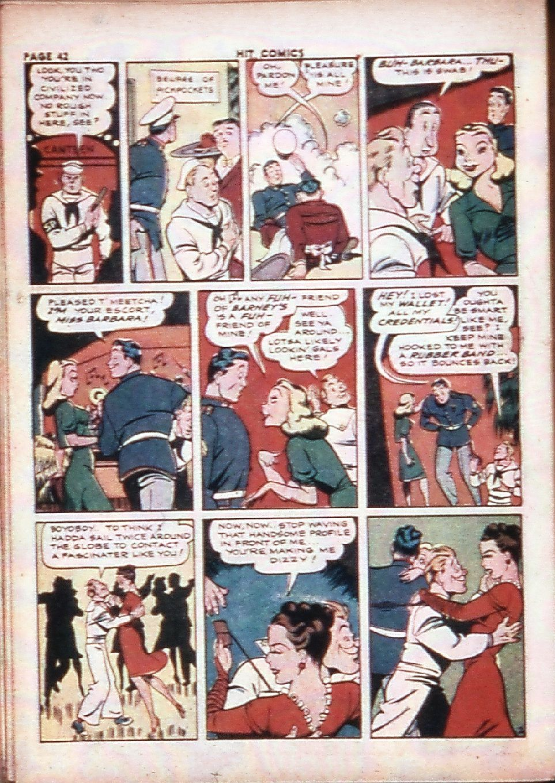 Read online Hit Comics comic -  Issue #29 - 44