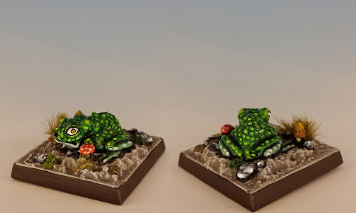 Talisman Toad, Citadel Miniatures (1986, sculpted by Aly Morrison)