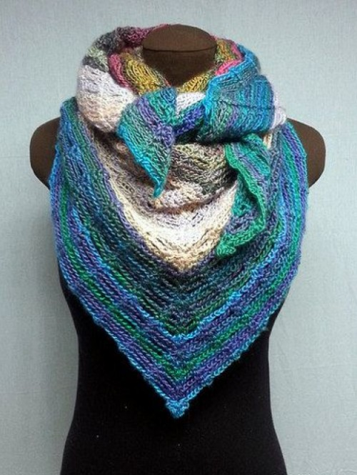Unchained Shawl - Free Pattern