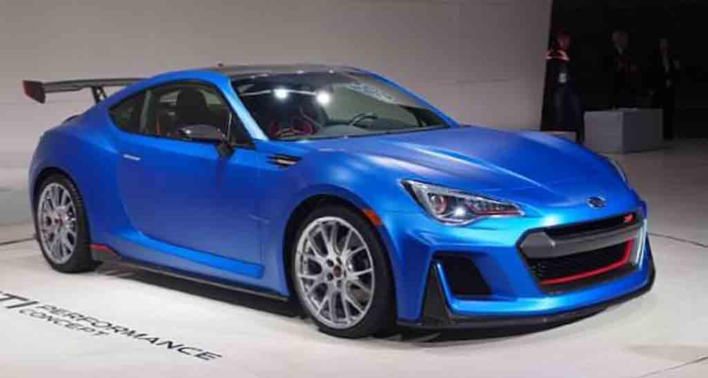 2017 Subaru Brz Sti Changes