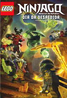 LEGO Ninjago Mestres do Spinjitzu: Dia da Despedida - DVDRip Dublado