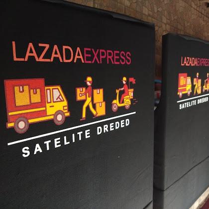 Kaos Lazzada Express