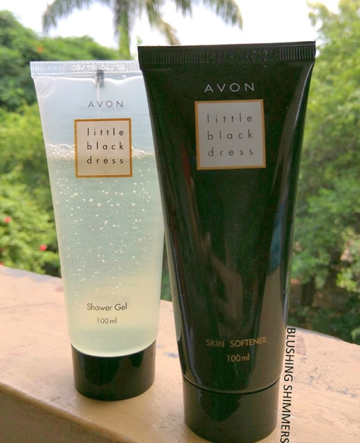 Avon Little Black Dress Skin Softener and Shower Gel