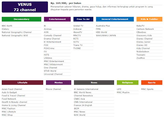 Berlangganan Indovision Paket Venus klik disini