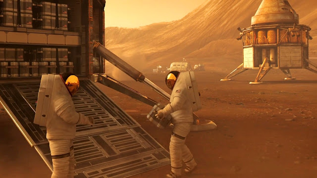Journey to Space image - Mars base