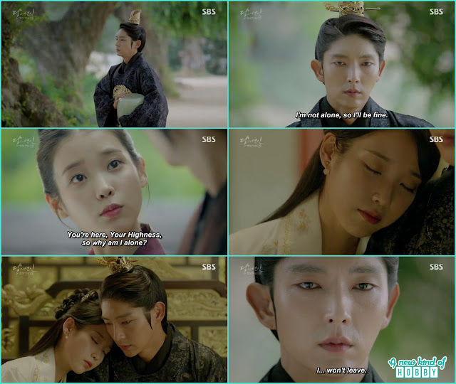 king wang so take Hae Soo ashes there they meet and told i won't leave you - Moon Lovers Scarlet Heart Ryeo - Episode 20 Finale (Eng Sub)