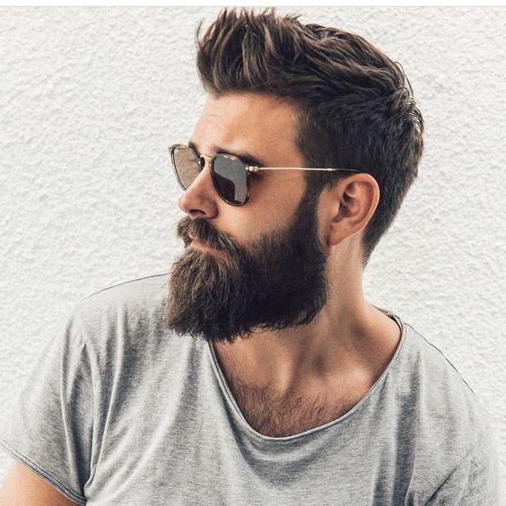 Estilo de Barba 2018 Cheia de Modelada