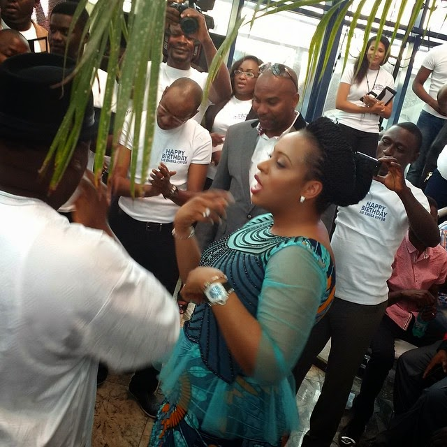 PHOTOS: Phyno, Flavour & Kcee Attends Emeka Offor's Birthday