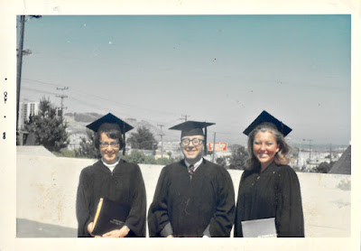Graduation Photo taken in Ingleside San Francisco in 1968