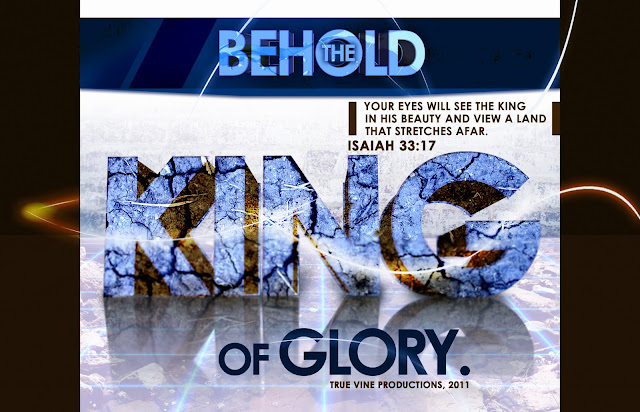 Behold the King Christian HD wallpaper or graphic