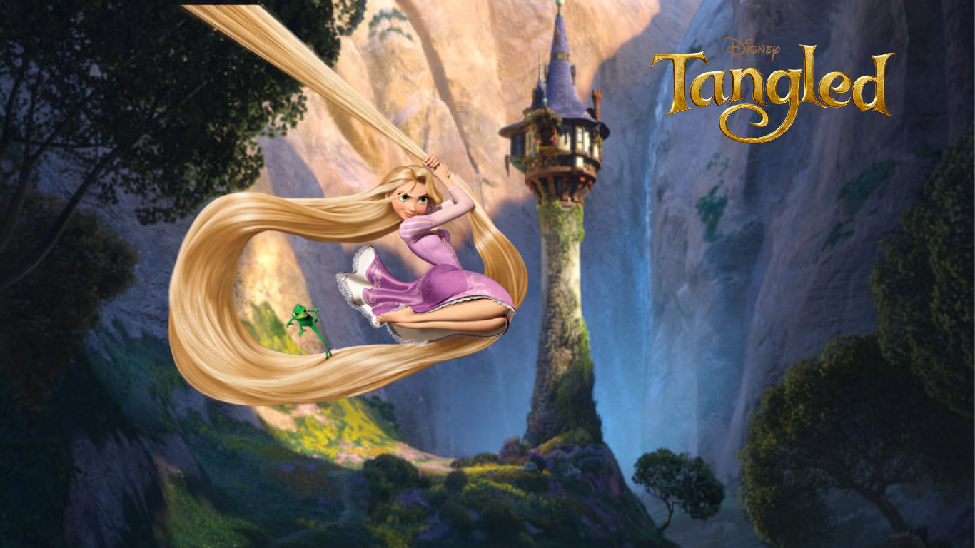 Adela watkins rapunzel - Tangled wallpaper ...