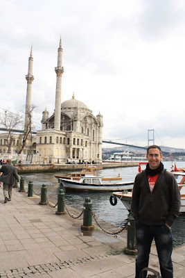 Mosque of Ortaköy in Istanbul