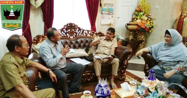 Gubernur Irwan Terima Kunjungan Pakar Paru-paru UI