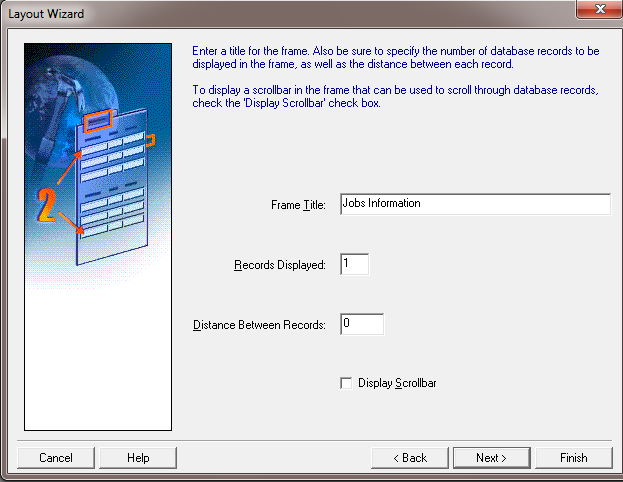 How to Create Oracle Forms by Using Wizard ? - No of Records