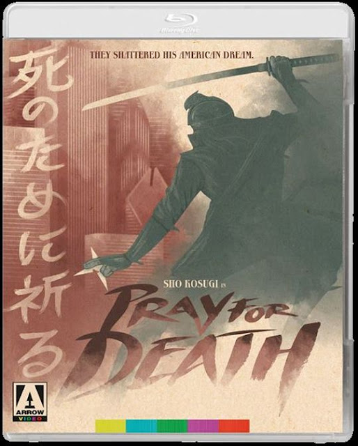 Pray for Death Blu-ray cover