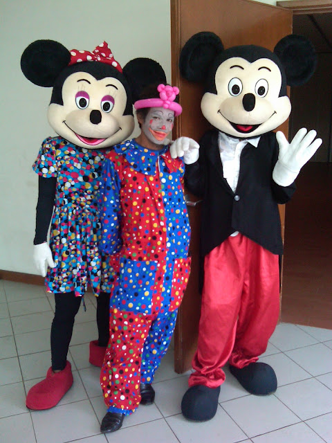 Badut MC, badut Mickey mouse, Badut Minnie mouse
