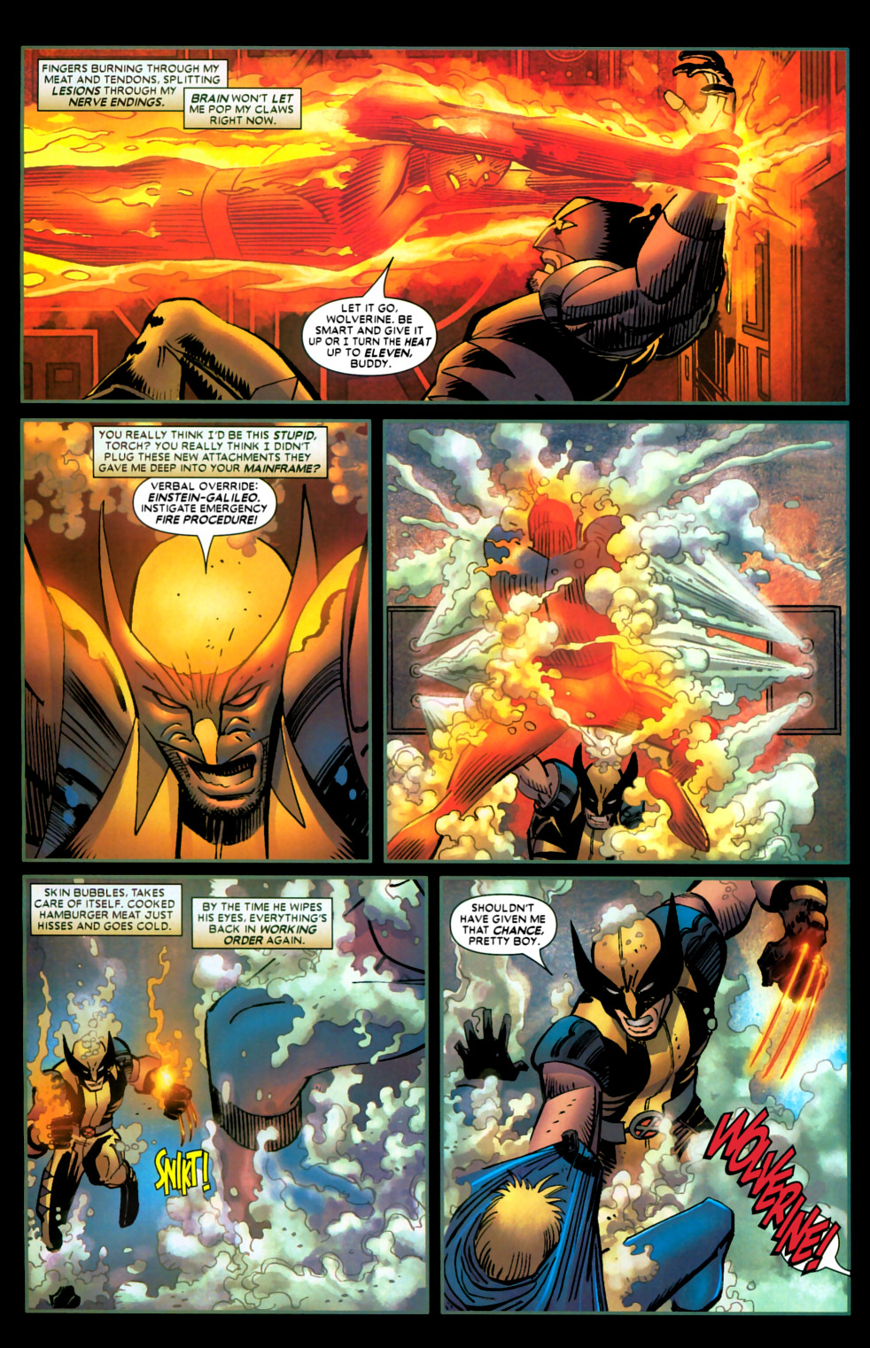 Read online Wolverine (2003) comic -  Issue #22 - 11